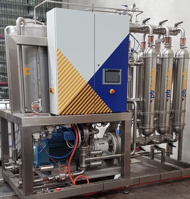 EVO-LSX Low Shear Wine Crossflow Filter Plant